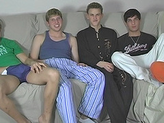 Five Boy Jerk And Suck Session - Blair, Jayce, Sean, Tyler and Tyler